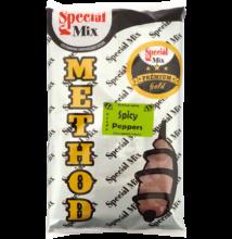 Speciál-mix előre kevert Method etetőanyag Spicy Peppers