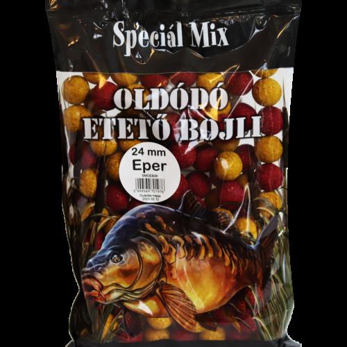 Speciál mix 24 mm-es Oldódó Etető Bojli EPER